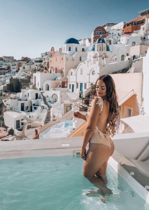 Majoitus | Santorini