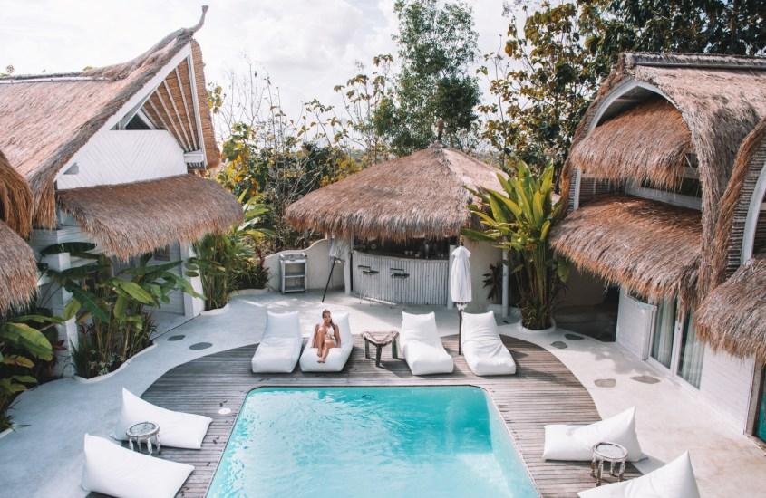 21 x Uniikki majoitus Balilla