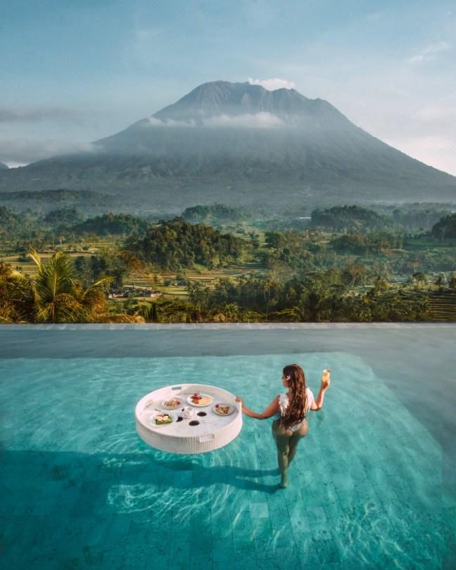 Bali majoitus