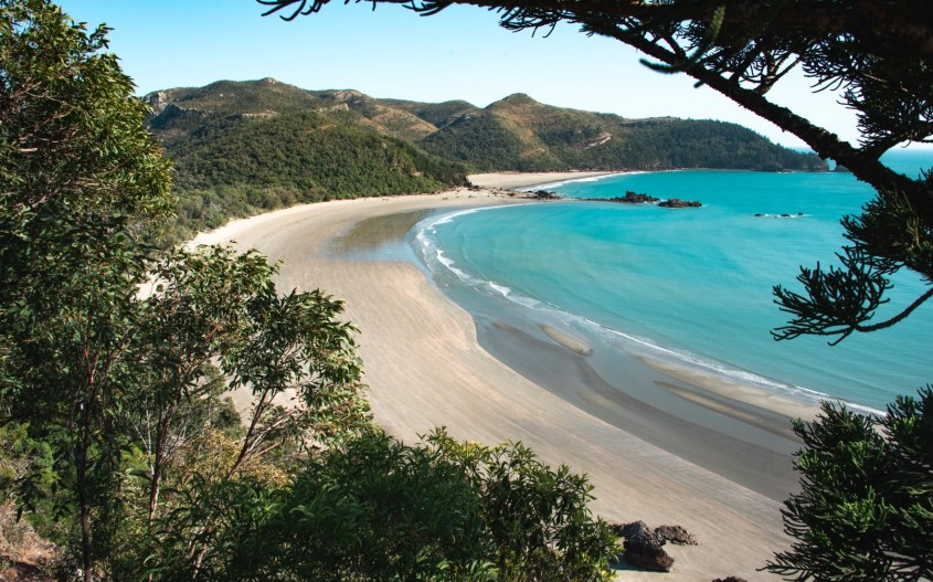 Australian kansallispuistot | Cape Hillsborough | Andrews Point