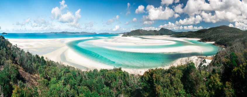 Whitehaven Beach Panorama