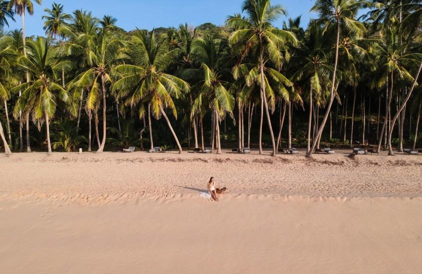 SRI LANKAN TANGALLE on palmurantojen rakastajan taivas