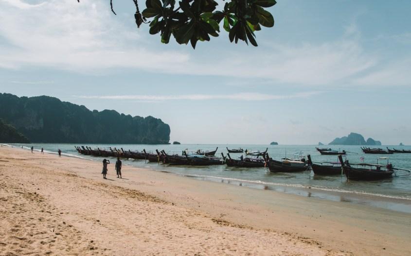 Ao Nang kokemuksia | Ao Nang ranta