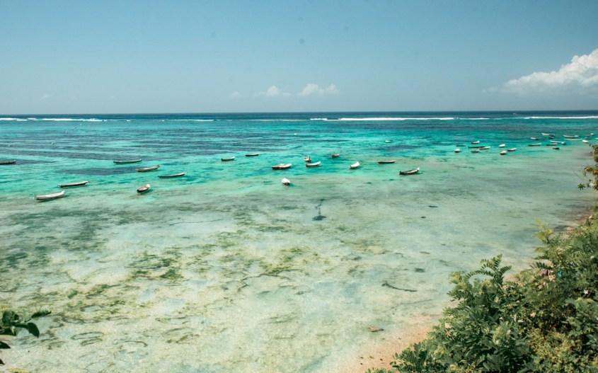 Nusa Lembongan kokemuksia | Rantaa ja veneitä