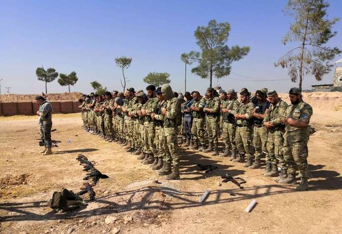 Turkish ground forces seized at least one village from Kurdish fighters in northern Syria 2