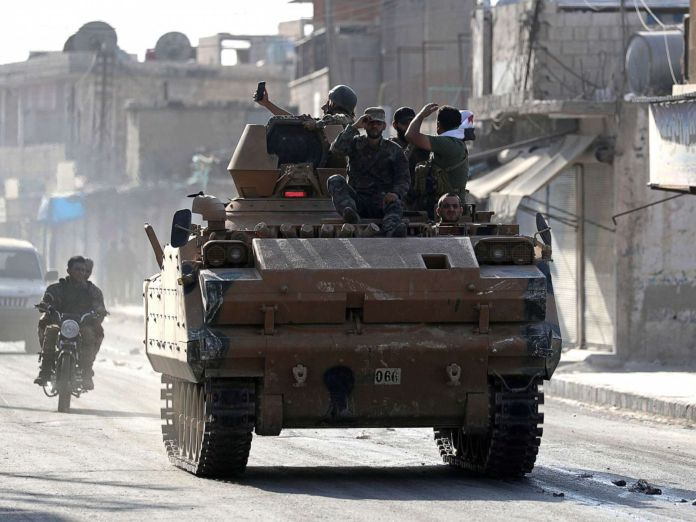 The violence escalates in Syria 1