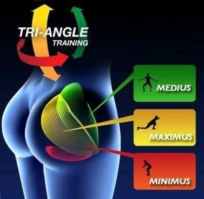 Strength training for the buttocks muscles 1
