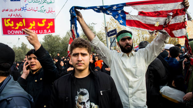 Iraq: protests to demand  US troops to leave the country - изображение  на https://muvison.com