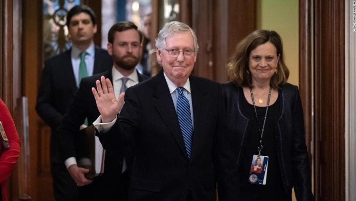 How Mitch McConnell Delivered Acquittal for president Donald Trump 1