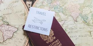 Travel restricted countries due to the COVID-19 - изображение  на https://muvison.com