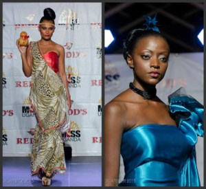 Two more. Recognize the one on the right? How about Miss Uganda 2013 who is wearing it? Couldn't resist :D