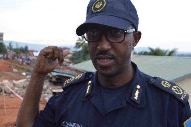 Rwanda police spokesperson