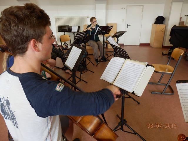 Querflöte und Cello