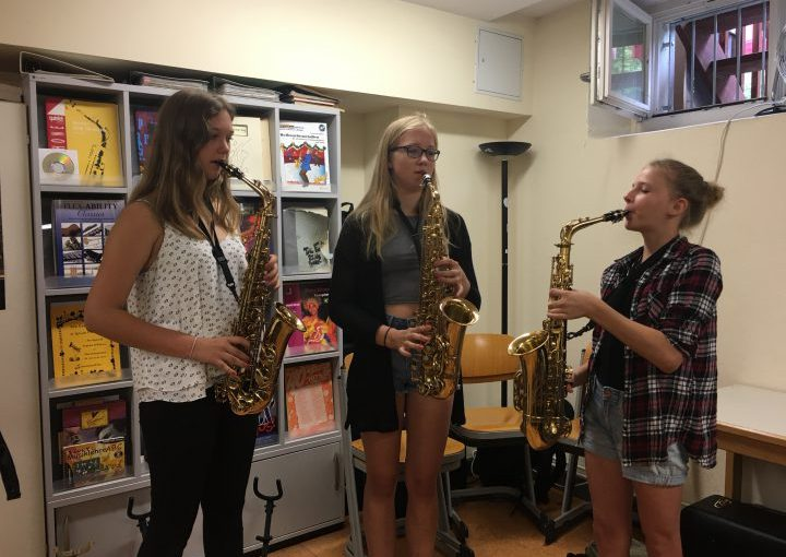 Instrumentenkarussell – Probieren geht über Studieren!
