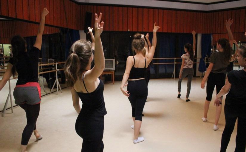 Überraschung beim Jazzdance!