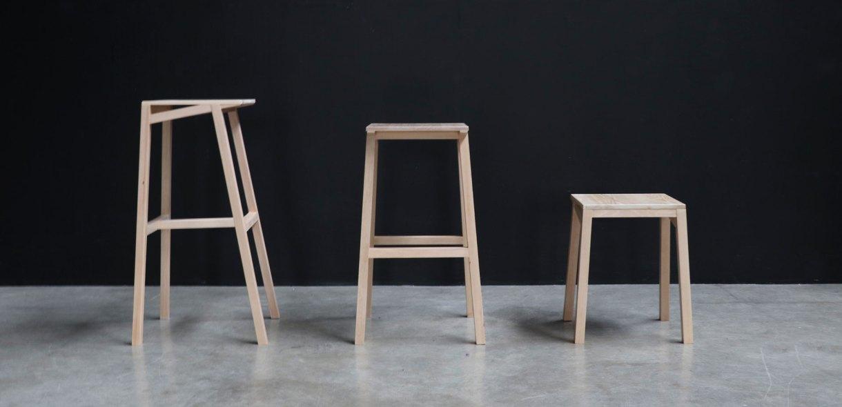 Studio lightweight stool