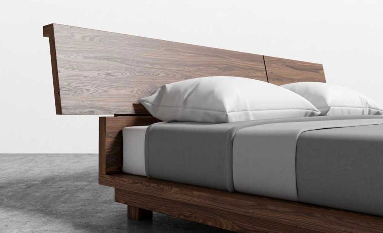 Hunter-Low-Profile-Bed-set-night-close-view