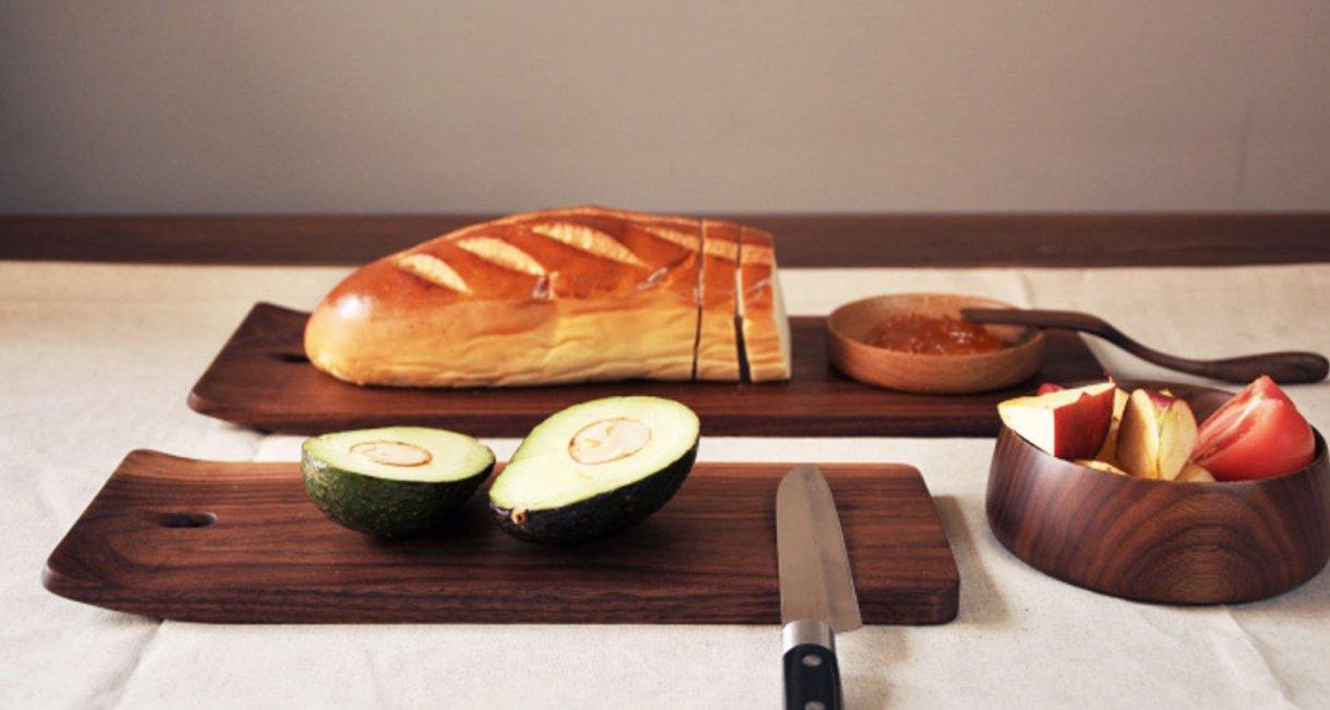 walnut-cutting-board-display