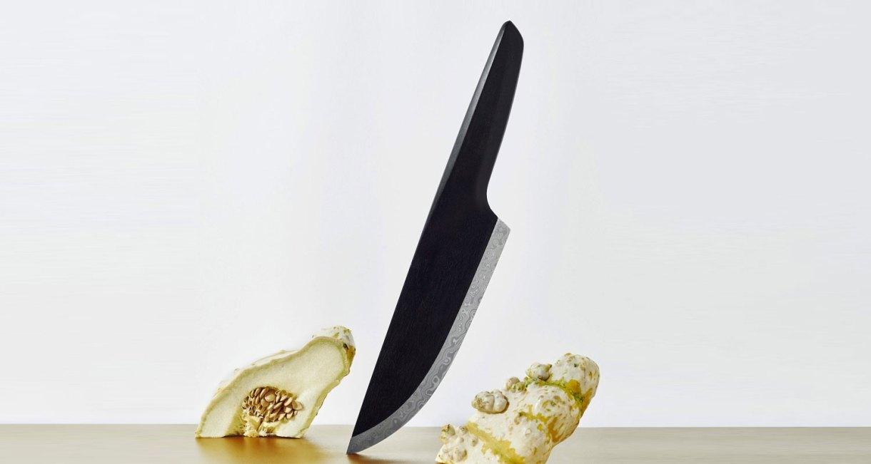 SKID-wood-steel-knife-Chef-Knife-drak
