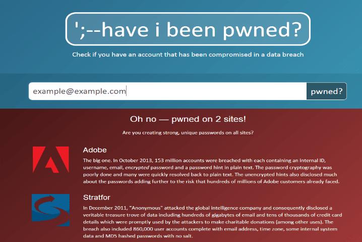 ¿Quieres saber si te han hackeado el correo? Compruébalo en HaveBeenIPwned.com