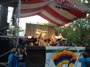 Dave Liebman and Matt Vashlishan lead an all-star jazz ensemble