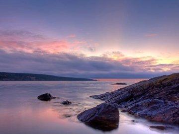Pondering Ocean Sunrise