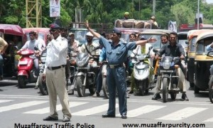 muzaffarpur traffic police