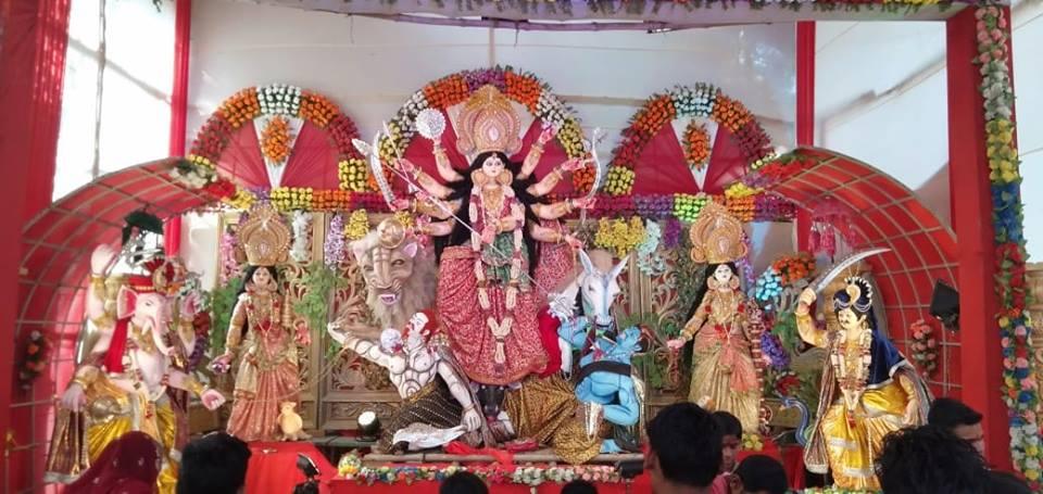 Ramdayalu Durga Puja Pictures