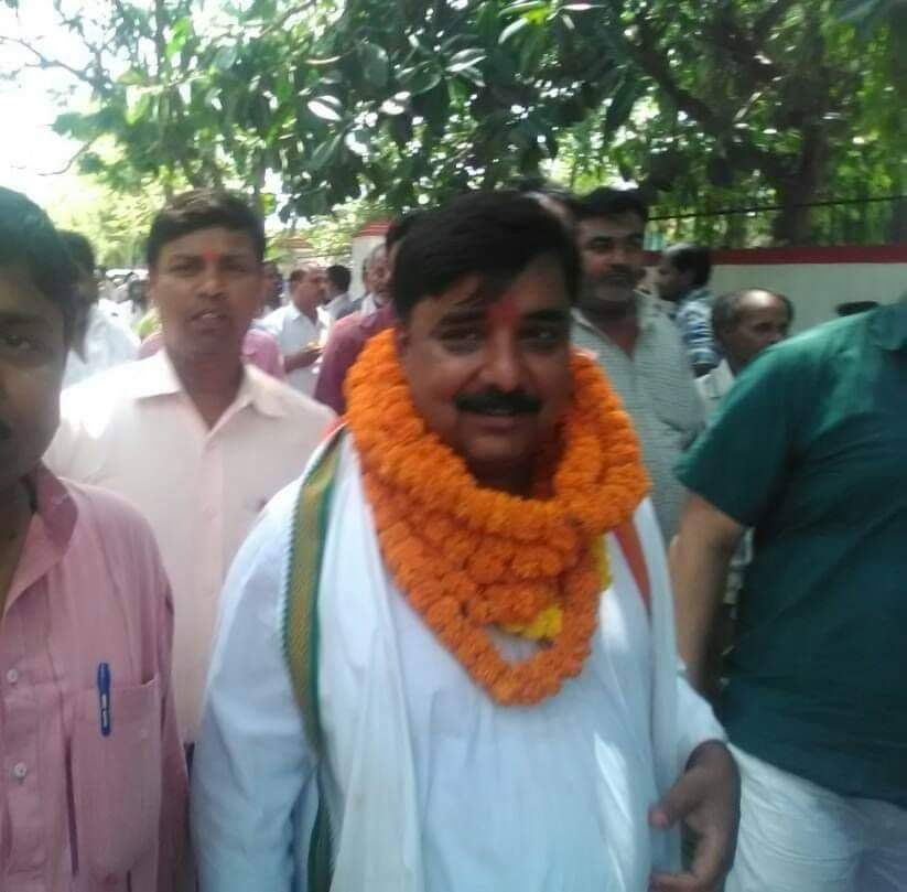 muzaffarpur new mayor rakesh mala photo