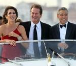 Синди Кроуфорд (Cindy Crawford), Рэнди Гербер (Rande Gerber) и Джордж Клуни (George Clooney) / © Site Marca / flickr