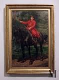 "Jan Matejko ""Portret syna artysty na koniu""; fot. Aleksandra"
