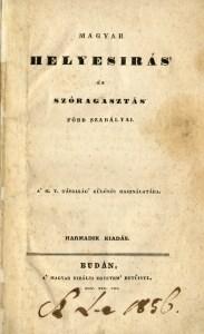 Magyar helyesírás és szóragasztás főbb szabályai