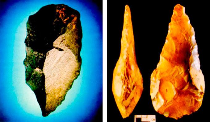 Кремени алатки т.н. ашелски според едно археол. наоѓалиште, кои се користеле во периодот од пред 1.5 милиони год. до 200.000 та г.пред н.е., од човековите претци: Homo erektusot до раниот архаичен Homo sapiens.
