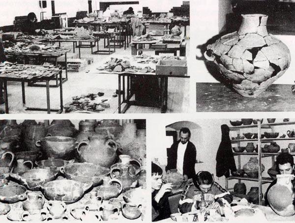 Составување на фрагментираните грнци, реставрирање и конзервација. Радоборска грнчарија, 15в.пред н.е