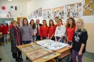 Креативни работилници во ОУ Крсте Петков Мисирков во с.Бистрица по повод патрониот празник на училиштето