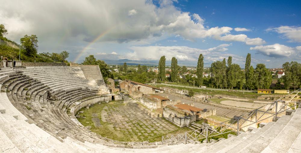 Heraclea Lyncestis - Panorama