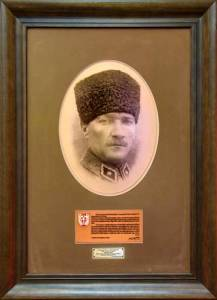 Photo of Mustafa Kemal Ataturk