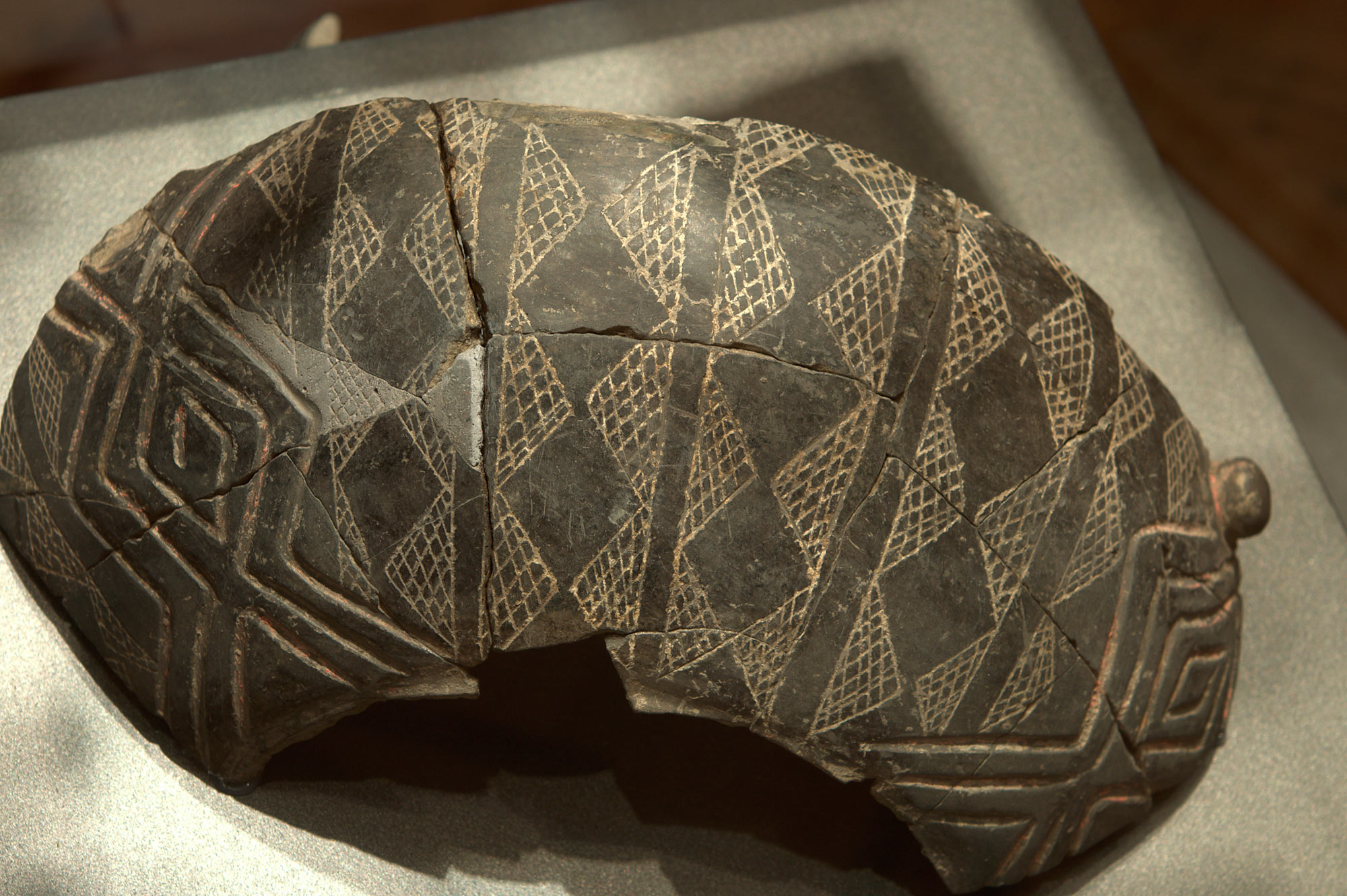 A fragment of a larger ceramic container – middle Neolithic period