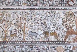Мозаик ансамбл нa Големата базилика – Хераклеа Линкестис