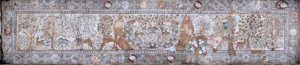 Мозаик ансамбл нa Големата базилика - Хераклеа Линкестис