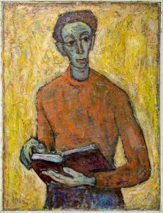 "Уметничка слика – ""Портрет"", современа уметност, автор Пецо Видимче"
