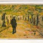 "Art Painting – ""Autumn"" – Contemporary Art, by Dimitar Pandilov"
