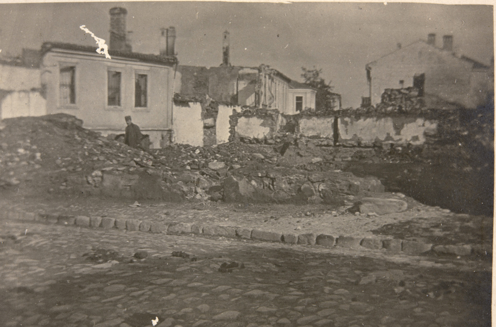Bitola - Destruction by shells in First World War, 1915-1918