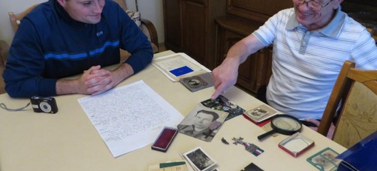 Spotkanie z rodziną kpr. Leona Imianowskiego