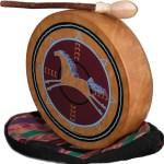 de raamtrommel is een van de oudst bekende muziekinstrumenten