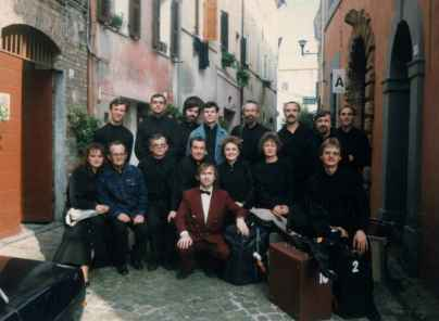 «Тагильские гармоники» в г. Кастельфидардо (Италия)