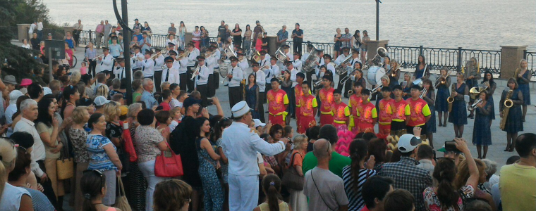 Парад-фестиваль духовых окрестров