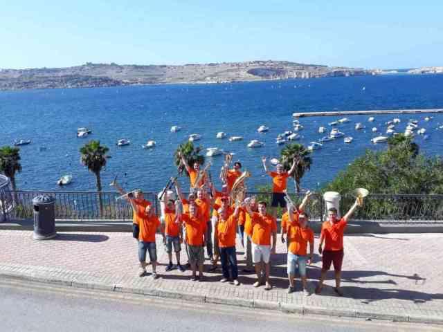 Мальта, 2017 Эстрадно-духовой оркестр