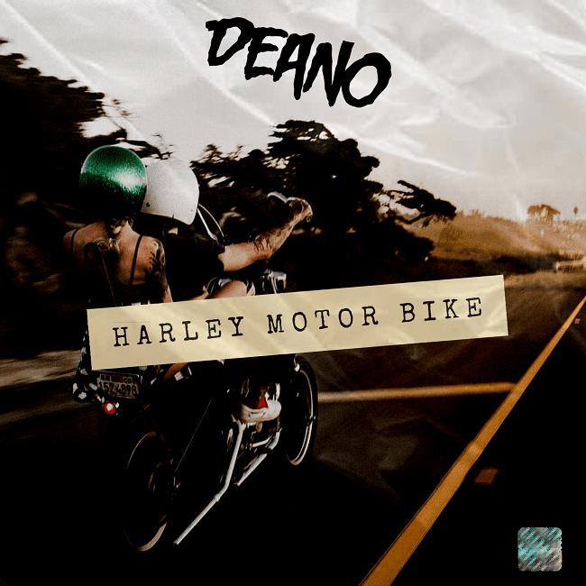 Deano Harley Motor bike
