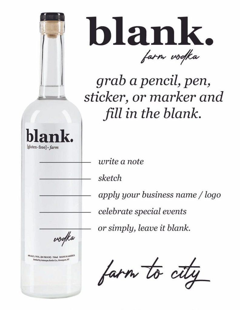 Blank Vodka